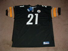 AMOS ZEREOUE #21 STEELERS BLACK HOME AUTHENTIC FOOTBALL JERSEY sz 58 NEW