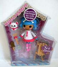 LaLaLOOPSY *MITTENS Bundles Up* Mini Collectible Doll Series 4 #4 NIP Low Ship
