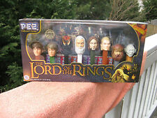 The Lord of The Rings PEZ Collectors Series Limited Edition Set #062884~Unopened