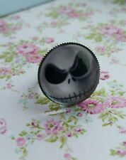 Jack Nightmare Before Christmas Image Silver Tone Adjustable Ring Gift Present