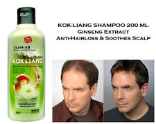 KOKLIANG Chinese Herbal Shampoo Ginseng Extract Growth Hair Loss Scalp Treatment