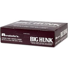 NEW! 24 large Annabelle's Big Hunk Candy bars / Big Hunk Taffy Nougat