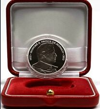 Monaco 2012 10 euro Silver HONORE II in official box with certificate.