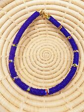 New African Maasai Beaded Choker Necklace Masai Massai ethnic tribal boho jnmr31