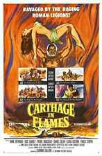 Carthage In Flames Poster 01 A3 Box Canvas Print