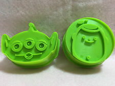 Toy Story Alien Buzz Three Eye Biscuits Cookie Cutter Stamp Set Fondant Mold