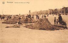 BR55437 Concours de Forts sur la plage Wenduine belgium
