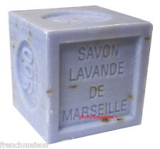 Savon de Marseille French Provence Crushed LAVENDER FLOWER Bath Soap New 300g
