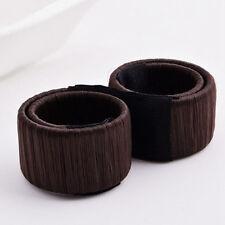 1X Daily Women Girl Easy To Use Bun Hair Band Hair Twist Styling Maker Hair Tool