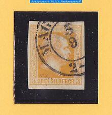 """Preussen 1857 - Mi.Nr.8a° orange, gebr.mit Doppelkr. """"MAG(DEBURG)""""- Kabinett"""