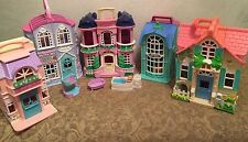 Fisher Price Sweet Streets Huge Lot 5 Buildings