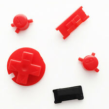 New Replacement Custom Red Colour Buttons Nintendo Game Boy Color GBC Mod