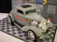 1934 FORD COUPE WITH RUBBER TIRES BY HOT WHEELS 1/64 LOOSE