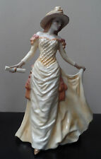 ROYAL WORCESTER FIGURINE - GARDEN PARTY HIGH SOCIETY - RICHARD MOORE - 1996