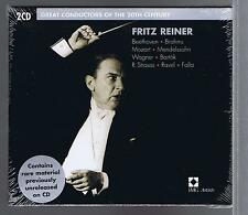 FRITZ REINER 2 CDs NEW GREAT CONDUCTORS OF THE 20TH CENTURY