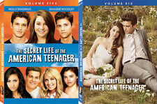 The Secret Life Of The American Teenager Vol. 5 + 6 . Complete Season 3 . 6 DVD