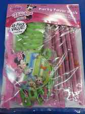 RARE Minnie Mouse Bow-tique Disney Kids Birthday Party Favor 48 pc. Value Pack