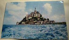 France Le Mont Saint-Michel Cote sid a Maree Haute 933 Lumicap - posted 1968