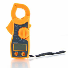 Useful MT87 Mini Clamp 1999 LCD Digital Multimeter AC/DC Voltage AC Amp Meter