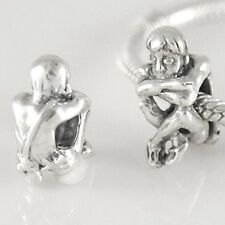 PETER PAN-Child-Spirit of freedom-Solid 925 sterling silver European charm bead