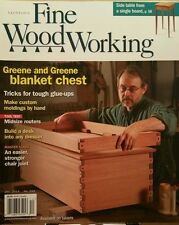 Fine Woodworking Blanket Chest Tricks Midsize Router #243 Dec 2014 FREE SHIPPING