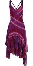Missoni Larissa Wrap effect Crochet Dress in Purple Italian size 44
