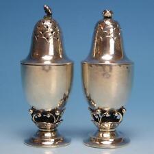 Georg Jensen Denmark - Sterling Silver - Salt and Pepper Shakers