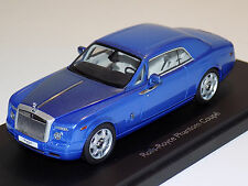 1/43 Kyosho Street Rolls Royce Phantom Coupe in Arabean Blue 05531ABL