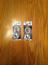 (2) TWO Fanatix NEW YORK YANKEES Collectible Key Chains NEW L@@K