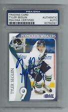 TYLER SEGUIN SIGNED 2008/09 PLYMOUTH WHALERS TEAM ISSUED ROOKIE CARD PSA/DNA