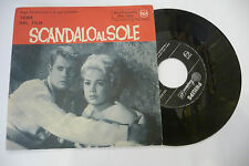 "HUGO WINTERHALTER""SCANDALO AL SOLE-disco 45 giri RCA It.1961 OST"""