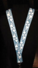 DISNEY PIN LANYARD MICKEY BLUE ICON 36 INCH SIZE PERFECT FOR SMALL ADULTS/CHILD