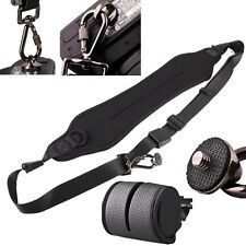 BLACK Hot Camera Quick Rapid Shoulder Neck Strap Belt Canon Nikon Sony Olympus