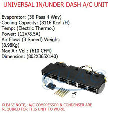UNIVERSAL AC UNIT ASSEMBLY KIT91  IN / UNDER DASHBOARD 3 SPEED 12V