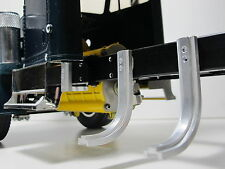 2 set Aluminum J style Fuel Gas Tank Mount holder Tamiya 1/14 Semi King Hauler