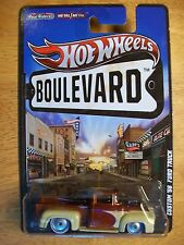 Hot Wheel 2011 Boulevard Series Big Hits '56 Ford F-100 Pickup Truck Real Riders