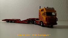 "SCANIA   143 "" VSB TRANSPORT ""  WSI 1/50"
