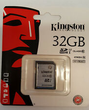 Kingston 32GB Secure Digital SDHC Memory Card SD10VG2/32GB
