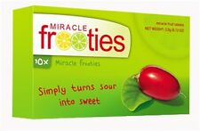 Miracle Frooties Miracle Fruit Tablets 350mg 10 tabs miraculin Authorized