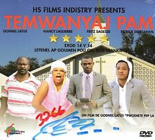 TEMWANYAJ PAM- Haitian Creole DVD Religious Drama Life-lesson Repentness Justice