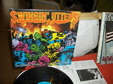 "SWINGIN' UTTERS ""A JUVENILE PRODUCT...."" LP FAT WRECK 1996 - CANADA - INSERT"