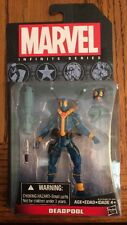 Marvel Infinite Series! New X-Men Blue Deadpool! Hasbro 3.75-inch Action Figure!