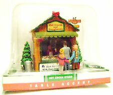 Coventry Cove Lemax Christmas Holiday Village Building Hot Cocoa Chocolate Stand