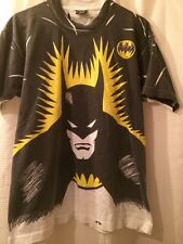 Vintage Batman 1988 Screen Stars 50/50 All Over Print T Shirt XL 1980s