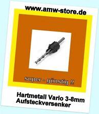 Famag  HM Senker Vario 2202 3 bis 8mm Hartmetall Aufsteck Versenker Krauskopf