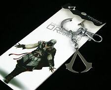 ASSASSINS CREED IV 4 BLACK FLAG 3D METAL KEYRING KEYCHAIN SAME DAY DISPATCH UK