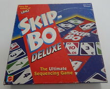 Mattel Skip-Bo Deluxe COMPLETE R11389