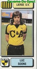 174 LUC SOONS BELGIQUE LIERSE.SV STICKER FOOTBALL 1983 PANINI