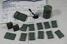 Mortar Defense Unit Vintage 1980s Hasbro G.I. Joe Complete w/ Blueprint 1984 GI