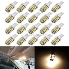 20x Warm White T10 194 RV Trailer 42-SMD 12V Backup Reverse LED Lights Bulbs